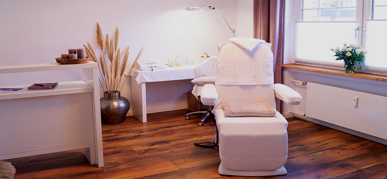 Behandlungsraum Kosmetikstudio Konert Gütersloh